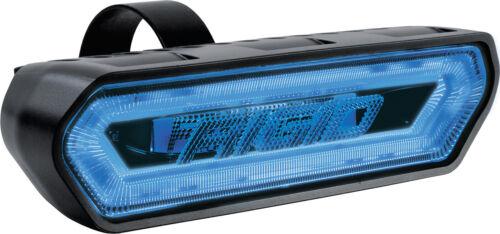 RIGID INDUSTRIES CHASE BLUE ILLUMINATED WHITE LED LIGHT STROBE RUNNING BRAKE