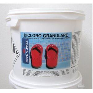 Dicloro-Granulare-56-Per-Piscine-5-10-25-KG-cloro-Azione-Rapida-Magiclor