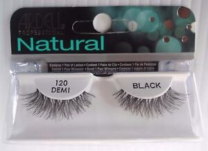 15f89d2cdf9 Image is loading Ardell-Strip-Lashes-Natural-Style-120-Demi-Black-