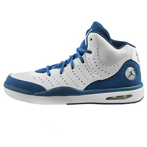 super popular 52ee2 2601d Nike Jordan Flight Tradition Mens 819472-107 White Blue Basketball ...