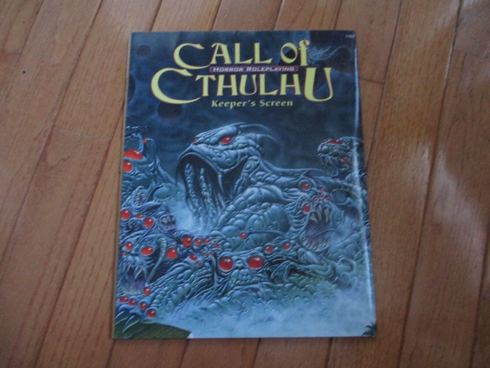 Call of Cthulhu Keeper's Screen Chaosium 2387