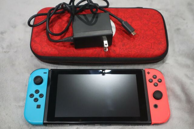 Nintendo Switch 32GB Neon Red/Neon Blue Console No Dock (Very Clean)