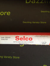 """Selco Infra Red Silica Heater Element 800W 230-250V ST4F 614mm Belling 24 3/16"""""""