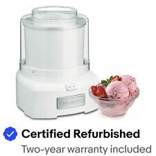 Cuisinart ICE-21FR 1.5 Quart Frozen Yogurt Ice Cream Maker Certified Refurbished