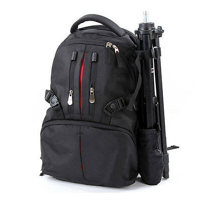 Shockproof Waterproof DSLR Camera Backpack Bag Case for Canon Nikon + Rain Cover