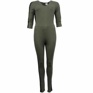 c94b38577679 Puma Archive T7 Womens Olive Night Khaki Cotton Jumpsuit 573534 14 ...