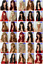 140-Styles-Black-Red-Brown-Blonde-Long-Curly-Straight-Wavy-Ladies-Fashion-Wigs thumbnail 4