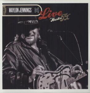 Waylon-Jennings-Live-from-Austin-TX-New-Vinyl-LP