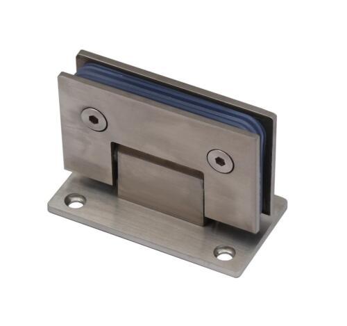 Edelstahl Glastür Scharnier für 10mm Glasscheiben Türbeschlag Glastürbeschlag