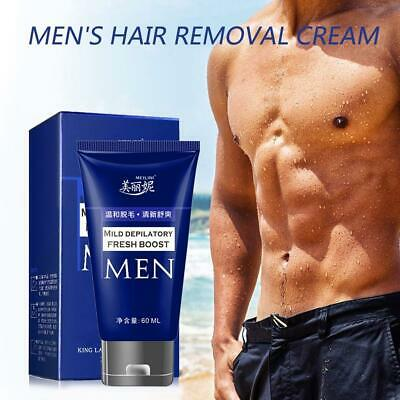 60ml Men Permanent Hair Removal Cream For Pubic Depilatory Beard