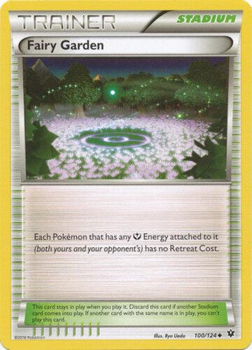 Uncommon Pokemon XY Fates Collide M//NM English x4 Fairy Garden 100//124