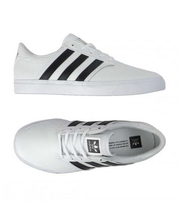 Adidas SEELEY Premiere White Athletic Sneakers (BB8517) White Premiere Shoes Skateboarding f276b9