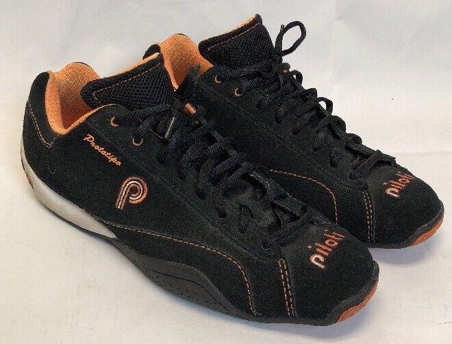 Piloti Prossootipo Driving scarpe Uomo Dimensione 9 US nero arancia arancia arancia c0447a