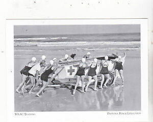 WAAC-Training-Womens-Army-WWII-Daytona-Beach-Florida-125-Post-Card