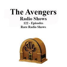 The Avengers 122 Rare Radio Shows - John Steed & Emma Peel - OTR