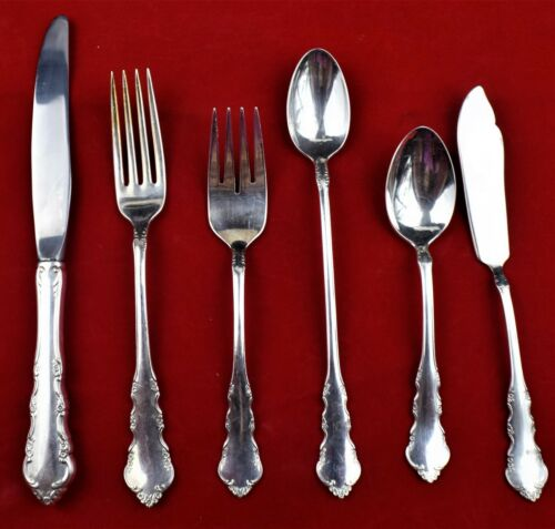 Reed /& Barton 1953 Dresden Rose your choice $ 3.95 silverplate $ 7.95