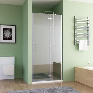 nischent r duschabtrennung faltt r duschwand dusche nano glas 80 100 x 195 cm ebay. Black Bedroom Furniture Sets. Home Design Ideas