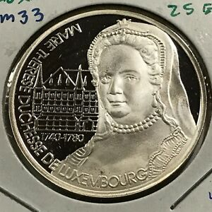 1994-LUXEMBOURG-SILVER-25-ECU-PROOF-UNCIRCULATED-CROWN-SCARCE-ISSUE