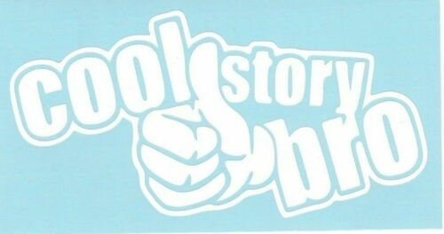 Cool Story Bro Car Truck Suv vinyl sticker decal