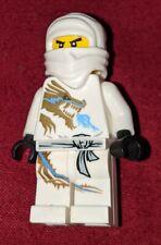 Lego Ninjago Minifigure body Torso Zane WHITE NINJA Minifig Part 9446 2507