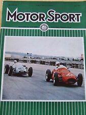 MOTOR SPORT MAGAZINE JUN 1967 AUDI SUPER 90 MONACO GRAND PRIX ROVER 2000 TARGA