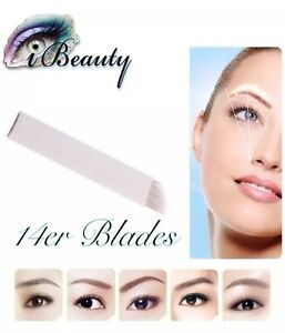 Microblading-Nadeln-14er-Blades-Permanent-Make-Up-Handmethode-Nadeln
