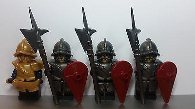 Custom ELF WARRIOR Armor//Weapons Pack for LEGO Minifigures LOTR Castle