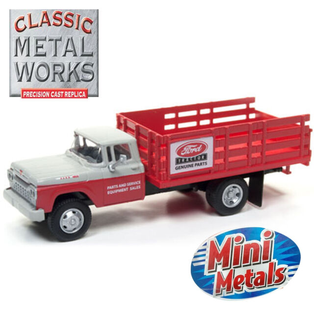 30494 Classic Metal Works 1960 Ford Stakebed Truck Ford Parts  HO 1//87