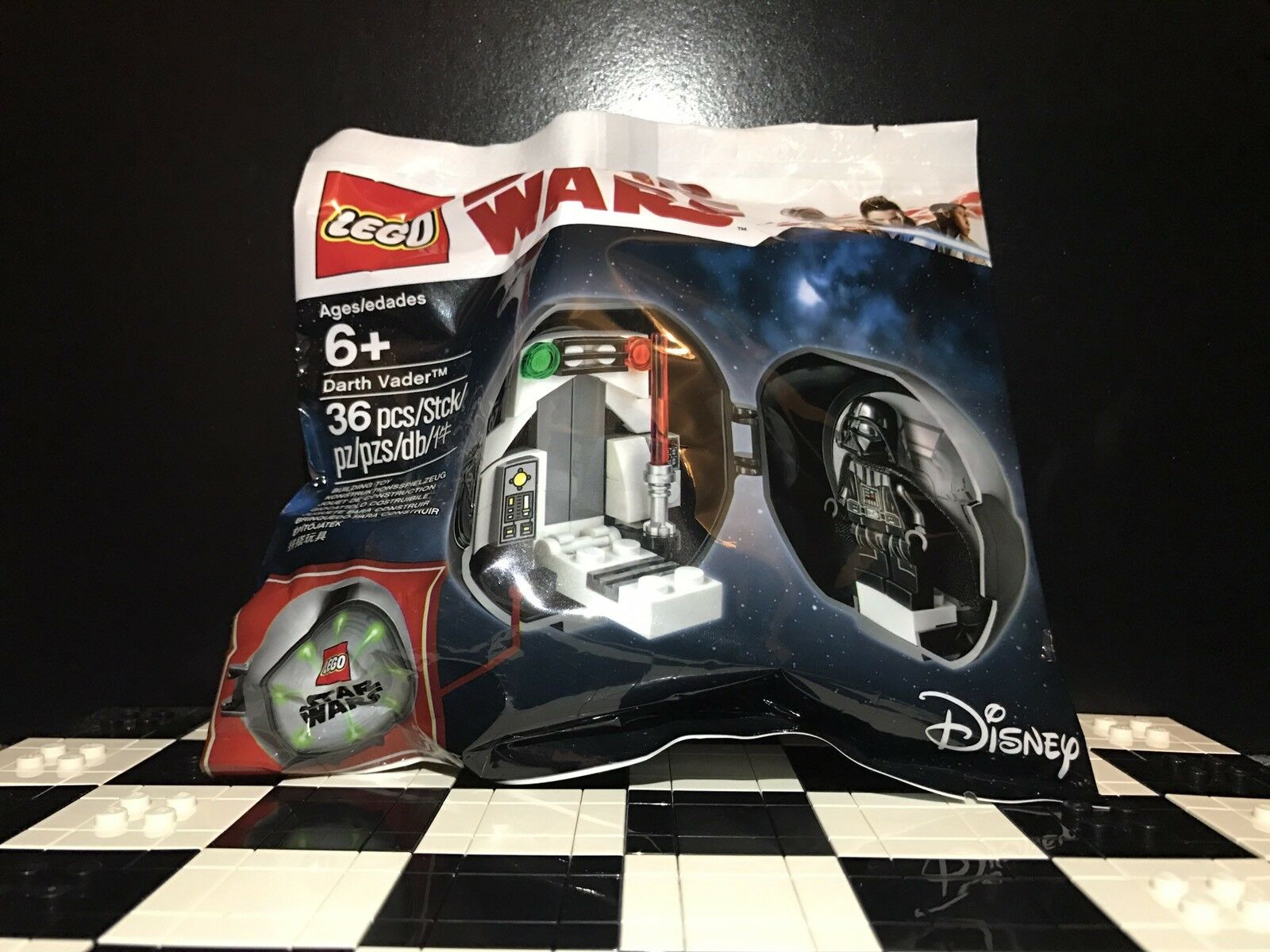 Lego Darth Vader Pod Exclusive Limited Edition 5005376 Polybag   Star Wars