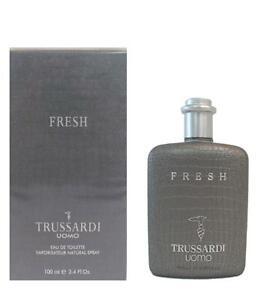 Fresh Trussardi Uomo 3.4 oz / 100 ml Eau de Toilette Spray for Men (New In Box)