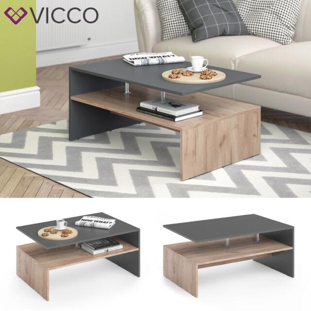 Vicco Amato Tavolino Da Salotto Sabbia Antracite Acquisti Online Su Ebay
