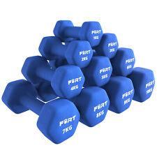Fort Fitness   Par de Mancuernas de Vinilo 1kg - 10kg -...