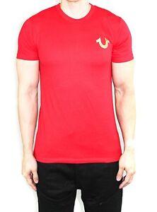 Men S True Religion T Shirts Gold Shoestring Horseshoe Logo Vintage