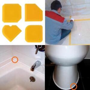 4pcs-Cement-Silicone-Glass-Scraper-Sealant-Grout-Remover-Home-Caulking-Tool-Kit