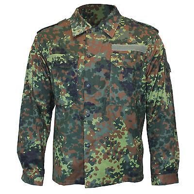 German Army Shirt FLECKTARN CAMOUFLAGE All Sizes Grade 1 Military Surplus Top