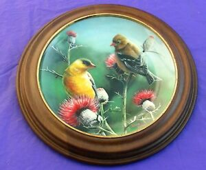 1987-Knowles-GOLDFINCH-8-Encyclopedia-Britanica-Plate