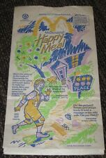 1991 Ronald and Birdie McDonalds Happy Meal Bag