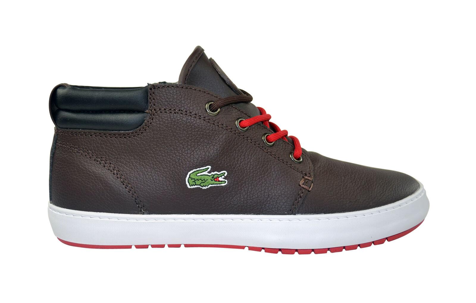 Lacoste Ampthill Terra URW SPM dk brown/black Schuhe/Sneaker Gr.40