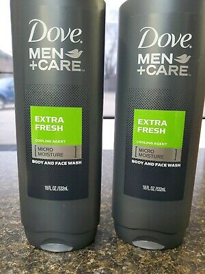 Dove Men Care Extra Fresh Micro Moisture Face Body Wash 2 Pk 18 Oz Ea 11111062184 Ebay