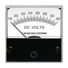 Blue Sea 8243 Dc Og Micro Voltmeter 2 Face 18 32 Volts