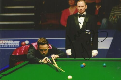 3 A 6 x 4 inch photo. Personally signed by Snooker player Jamie Jones.