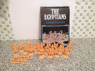 Atlantic 1602 L'esercito Egiziano Serie Q.completa 21/22 Pezzi Con Scatola 1/32