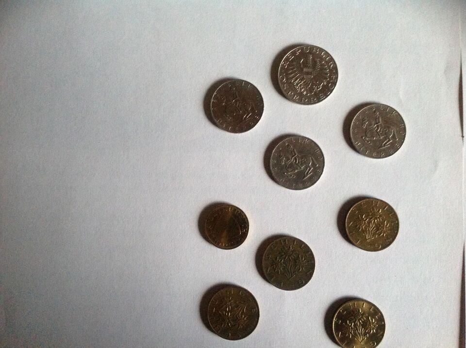 Andet land, mønter