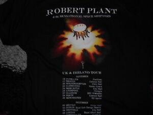 ROBERT-PLANT-2017-TOUR-T-SHIRT-SIZE-S-36-INCH-metal-rock-Zeppelin