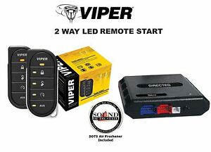 Viper 4806V 2 Way LED Remote Start with DBALL2 Bypass Module ...