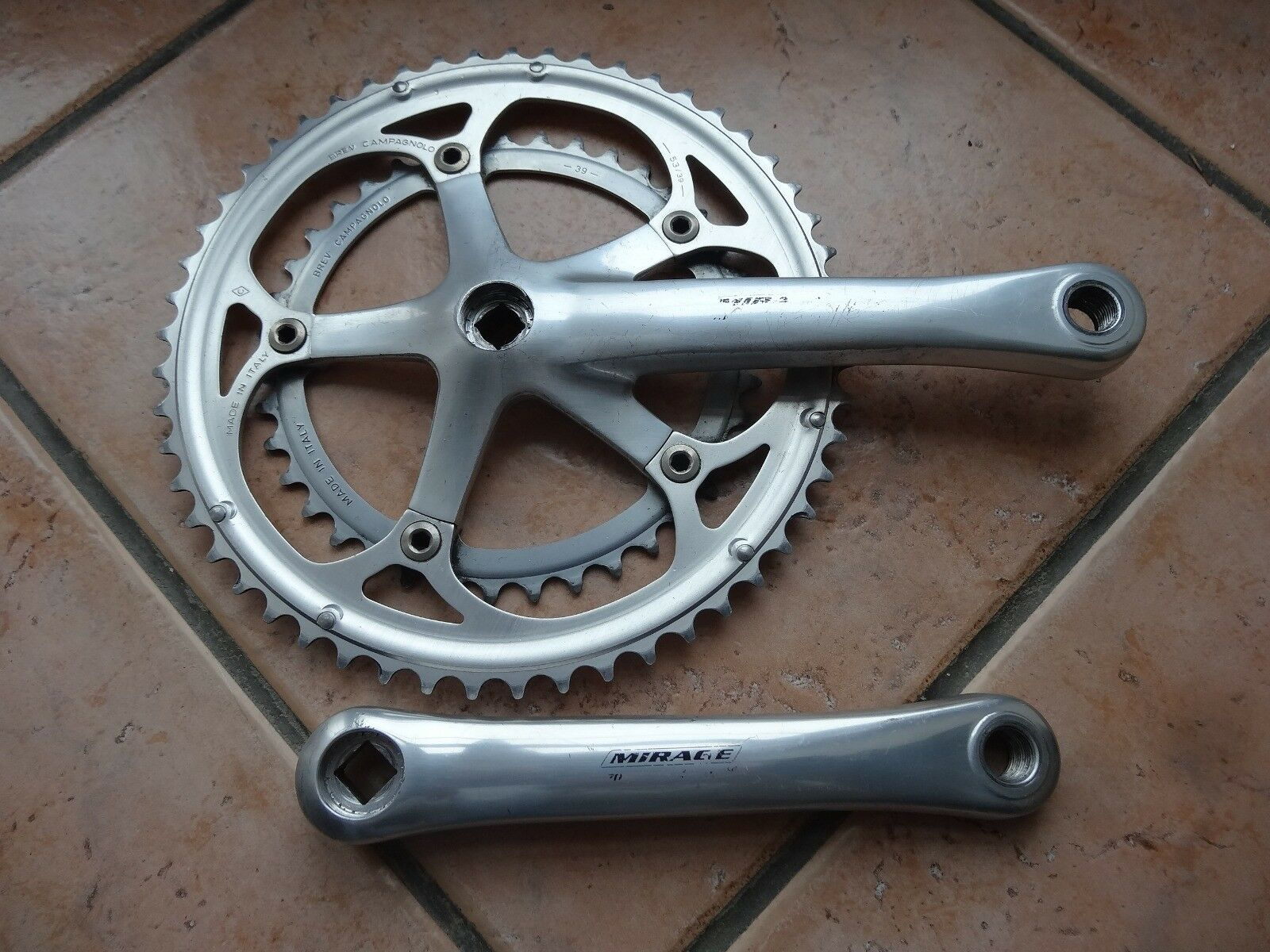 Campagnolo Mirage crankset 53 39  170mm lenght