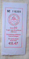 Pre Arriva GOZO MALTA PUBLIC TRANSPORT USED BUS TICKET