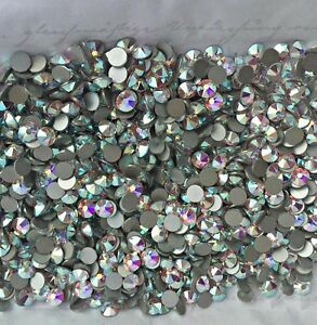 cea5d522b4 Swarovski crystals AB - flat back stones gems charms for nail art x ...