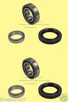 Left + Right 2 Rear Wheel Bearing Kits W/ Seals_set Pair For Isuzu_for Honda