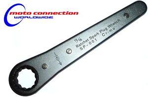 SUZUKI RM85 RM125 RM250  MOTOCROSS SPARK PLUG SPANNER RFX RATCHET